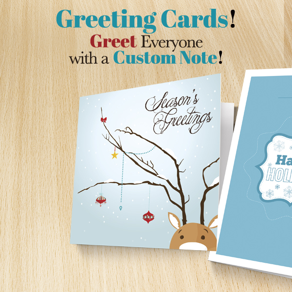Personalized holiday greeting cards color printing pros blog personalized holiday greeting cards m4hsunfo