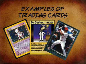 examples of trading cards